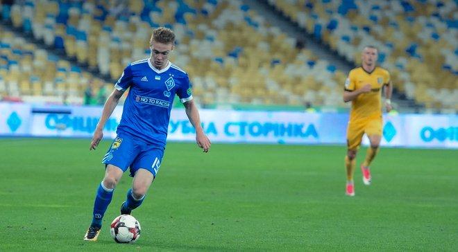 Цыганков стал лучшим игроком Динамо в марте по версии болельщиков
