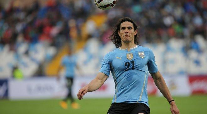 Кавані провів 100-й матч за збірну Уругваю