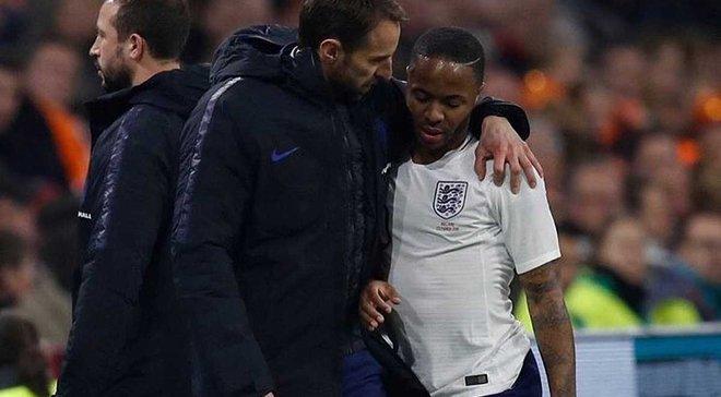 Стерлинг пожаловался на болельщиков сборной Англии