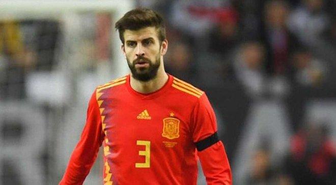 Пике был освистан фанатами сборной Испании на открытой тренировке