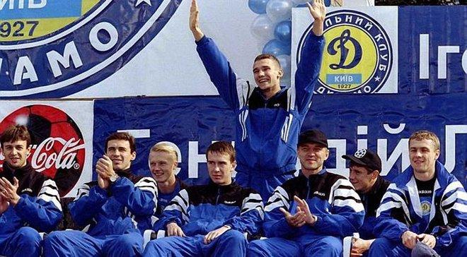 Шевченко и Ребров заняли высокое место в рейтинге 90 впечатляющих вещей эпохи 90-х, по которым тоскует британское издание