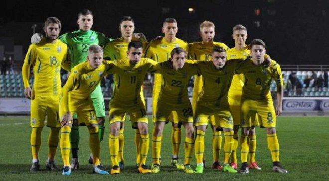 Англия U-21 – Украина U-21: стартовые составы команд