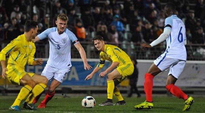 Сборная Украины U-21 на выезде уступила Англии: обзор матча