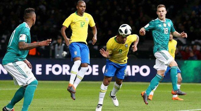 Бразилия на выезде победила Германию