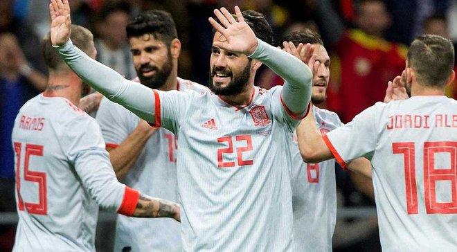 Испания поиздевалась над Аргентиной