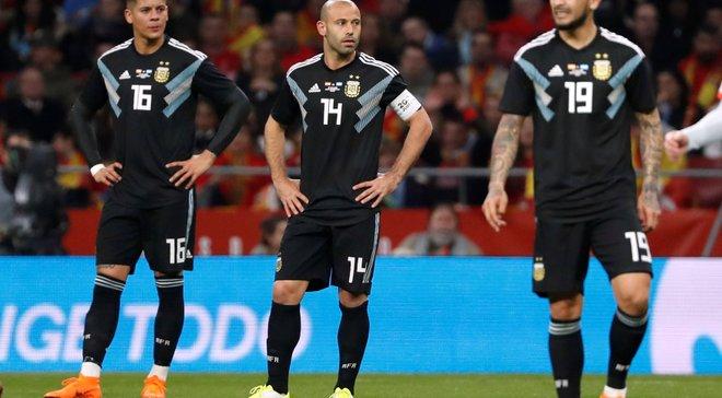 Збірна Аргентини повторила власний антирекорд