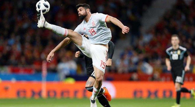 Диего Коста критикам Месси: Теперь вы увидели, как Аргентина играет без него