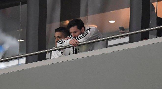 Как Месси отреагировал на унижение Аргентины в Испании