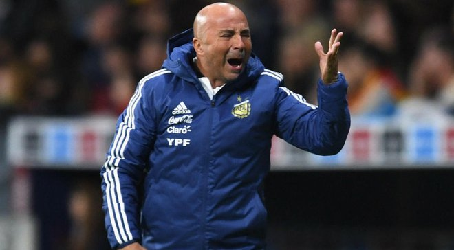 Сампаоли взял на себя вину за поражение от сборной Испании