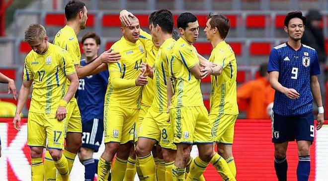 Форма сборной Украины признана худшей в марте по версии Squawka