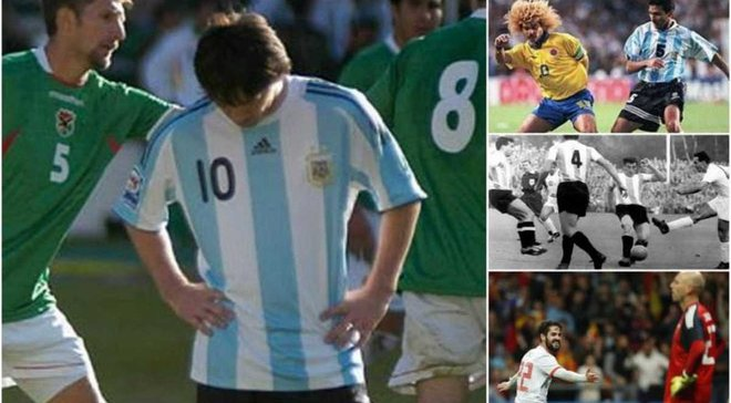 Топ-5 позорных поражений сборной Аргентины: Месси и Марадона также проигрывали со счетом 1:6