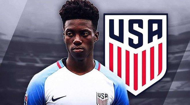 Сын Джорджа Веа дебютировал за сборную США