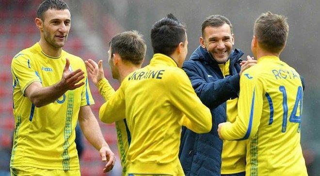 Украина поднимется на 30 место в рейтинге ФИФА