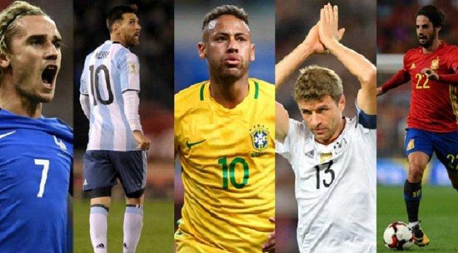 5 головних фаворитів ЧС-2018, або Чому Аргентина ще може мріяти про титул