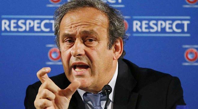 Платіні: Судді в ФІФА і CAS –несправжні