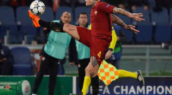 Наингголан – о матче с Барселоной: Рома будет играть в открытый футбол