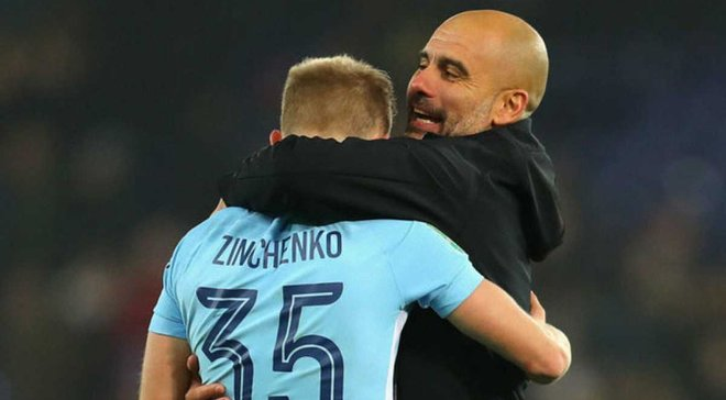 Зинченко может покинуть Манчестер Сити на правах аренды