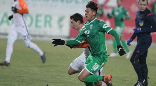 Карпаты – Черноморец: Карраскаль забил блестящий гол, обыграв соперника в стиле Роналдиньо
