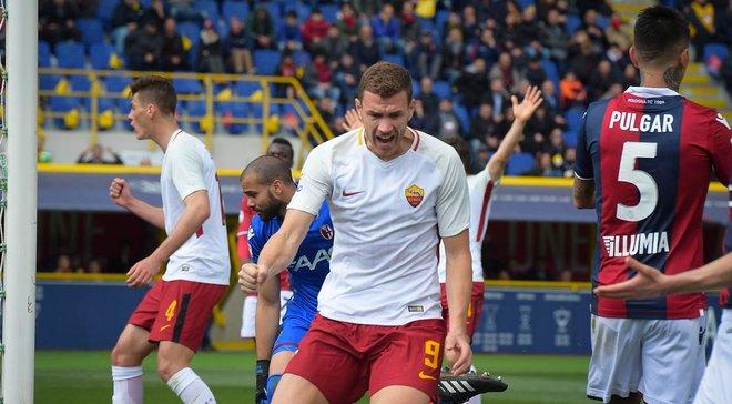 Рома не сумела обыграть Болонью