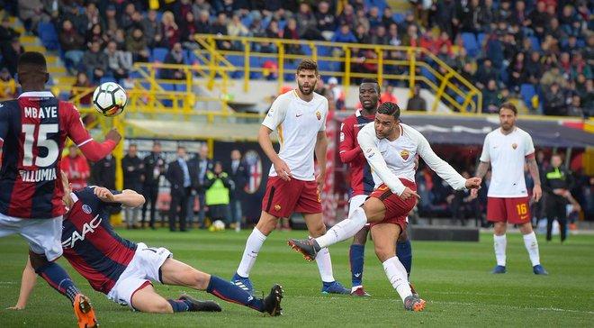 Болонья – Рома – 1:1 – видео голов и обзор матча