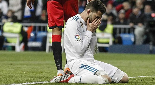 Лас-Пальмас – Реал: Начо зазнав першої травми у професійній кар'єрі та розплакався