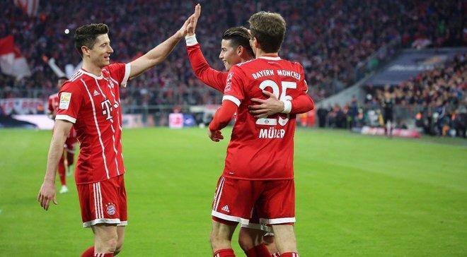 """Баварія знищила Борусію Д за один тайм, перервавши тривалу безпрограшну серію """"джмелів"""" у чемпіонаті"""