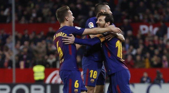 Барселона видала неймовірний камбек проти Севільї: Мессі врятував каталонців