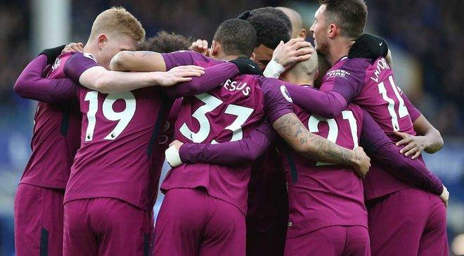 Евертон – Манчестер Сіті – 1:3 – відео голів та огляд матчу