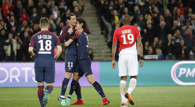 ПСЖ уничтожил Монако и стал чемпионом Франции