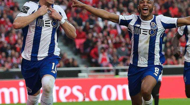 Порту переміг Бенфіку в матчі сезону, Еррера забив неймовірний гол на останній хвилині