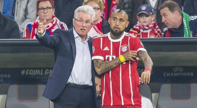 Бавария – Реал: Хайнкес подтвердил, что Видалю предстоит хирургическое вмешательство