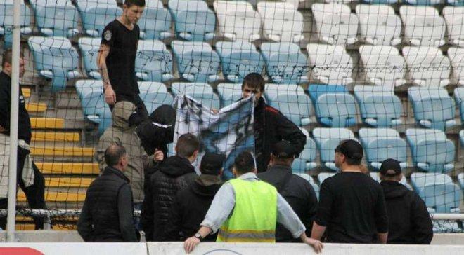 Чорноморець зробив заяву щодо свастики на трибунах
