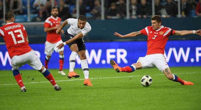 ФІФА відкрила справу з приводу расизму на матчі Росія – Франція
