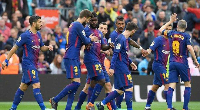 4 гравці основного складу Барселони пропустять матч проти Сельти