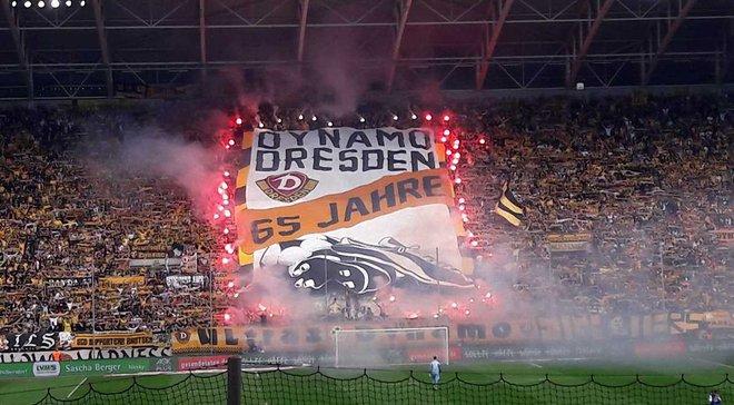 Полиция расследует нацистские кричалки фанатов Динамо Дрезден