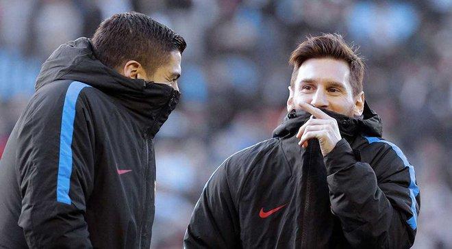 Мессі та Суарес шоковані рівнем гри Барселони і визначились з головним винуватцем, – ЗМІ