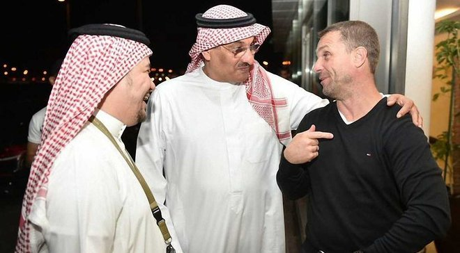 Ребров дізнався про звільнення з Аль-Ахлі від журналіста