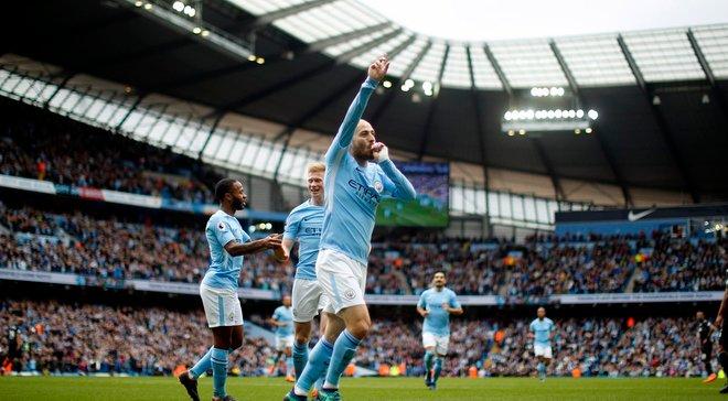 Манчестер Сіті розгромив Суонсі