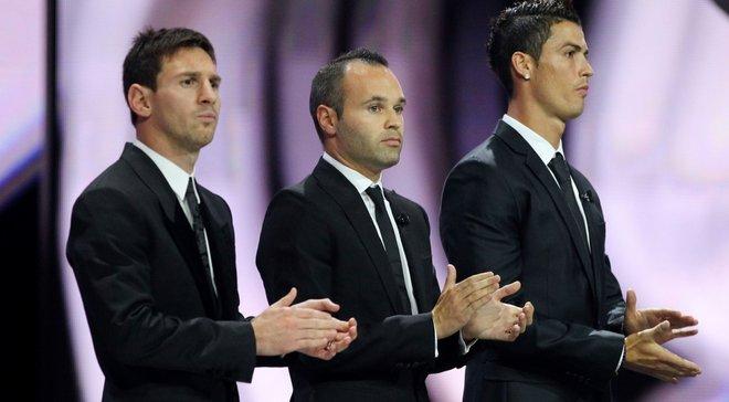 """""""Пардон, Андрес"""" – за що Іньєста отримав вибачення від France Football"""