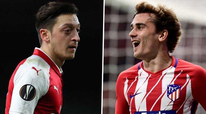 Арсенал – Атлетіко: анонс матчу 1/2 фіналу Ліги Європи