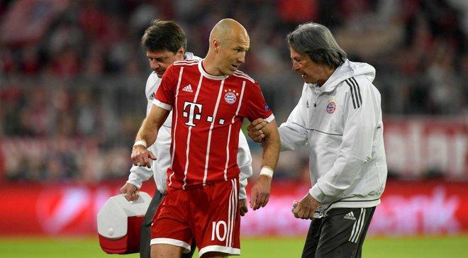 Бавария – Реал: Роббен получил травму уже на 5-й минуте