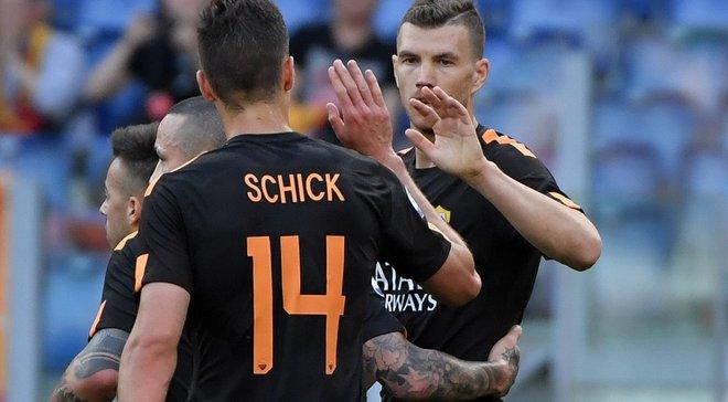 Рома – К'єво – 4:1 – відео голів та огляд матчу