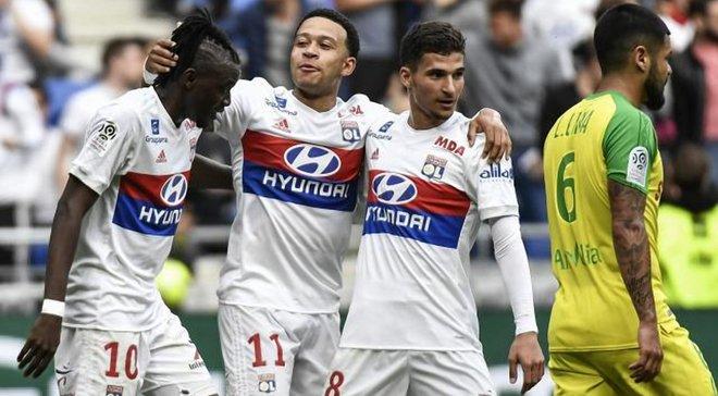 Ліон забив рекордні 79 голів у сезоні
