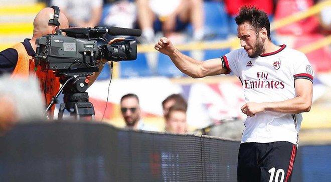 Мілан переміг Болонью, Беневенто зіграв феєричну нічию проти Удінезе, Верона програла СПАЛу