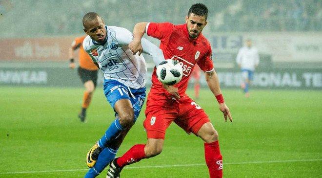 Яремчук не реалізував пенальті, Гент програв Стандарду Лучкевича