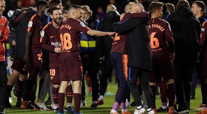 Барселона показала, как праздновала 25 чемпионство Испании