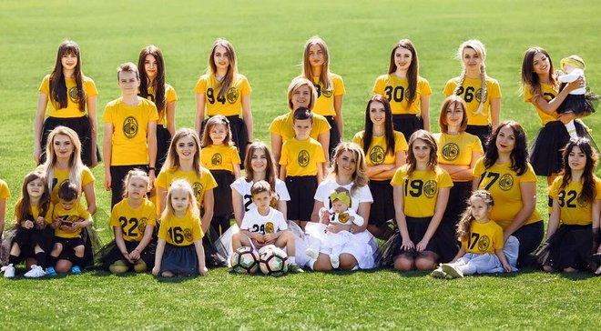 Рух снял мотивационный клип с участием девушек и жен футболистов