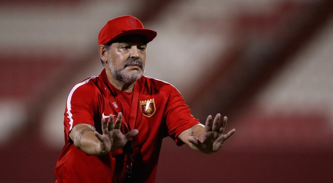 Марадона передумал покидать пост тренера Аль-Фуджайры