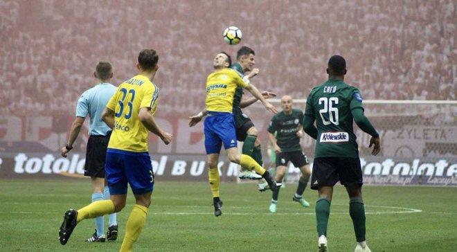 Арка з Богдановим програла Легії у фіналі Кубка Польщі