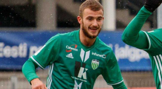 Прикарпатський футболіст у складі естонського клубу став віце-чемпіоном країни